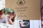 Lộ thiệp cưới chính thức của Khởi My - Kelvin Khánh