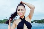 Thu Minh khoe đường cong nóng bỏng với bikini cắt xẻ táo bạo