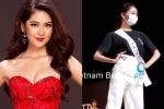 Chưa khỏi thủy đậu, Thùy Dung đeo khẩu trang tổng duyệt Chung kết 'Hoa hậu Quốc tế 2017'