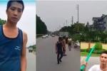 Nhóm thanh niên chặn xe ô tô trên đường, hung hãn dọa đập chết tài xế
