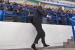 Clip: Nhân viên an ninh điển trai nhảy tưng bừng trên khán đài gây sốt