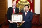 Chủ tịch FIFA Gianni Infantino: 'Bóng đá Việt Nam đã ở tầm thế giới'