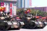 Video: Toàn cảnh Triều Tiên duyệt binh hoành tráng ngày Quốc khánh