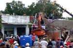 Sập giàn giáo căn nhà đang xây, 6 người thương vong