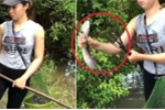 Clip: Cô gái miền Tây dùng lao xiên cá bách phát bách trúng
