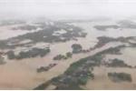 Video: Toàn cảnh lũ mênh mông 'bao vây' Bình Định nhìn từ trên cao