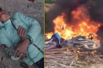 Trộm chó bị dân đánh ngất xỉu, đốt xe máy ở Vĩnh Phúc
