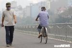 Ảnh: Hà Nội có đường đi bộ dài 4km ven sông Tô Lịch, dân bịt khẩu trang tránh mùi hôi