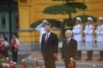 Video: Bắn 21 phát đại bác chào mừng Chủ tịch Trung Quốc Tập Cận Bình