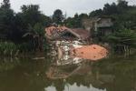 Video: Căn biệt thự gần 4 tỷ đồng sập trong đêm ở Đắk Nông
