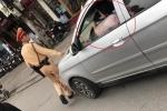 Bị CSGT tuýt còi, nữ tài xế ngoan cố cho xe chạy tiếp vì đang bận
