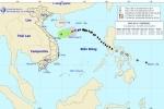 Bão số 13 đã suy yếu thành áp thấp nhiệt đới trên Biển Đông