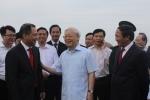 Tổng Bí thư Nguyễn Phú Trọng thăm Dự án tổ hợp sản xuất ô tô VINFAST tại TP Hải Phòng
