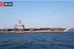 Video: Theo chân phóng viên tiếp cận siêu tàu sân bay Mỹ ở Đà Nẵng