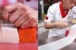 Clip: Kinh ngạc tuyệt kỹ dùng dao của đầu bếp Trung Quốc