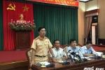 Họp báo Thành ủy Hà Nội: Không có nội dung phóng viên bị cảnh sát 'gạt tay vào má'
