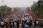 Video: Đền Hùng đông nghẹt thở trước ngày giỗ tổ Hùng Vương
