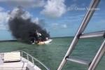 Video: Du thuyền chở 12 người phát nổ ở Bahamas, nhiều người nguy kịch
