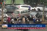 Hà Nội: Thí điểm thu phí trông xe theo giờ từ 1/4/2017