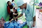Làm thịt lợn 2 tạ, 13 mâm cơm đầy tiết canh lòng lợn, 50 người ở Thái Bình ngộ độc