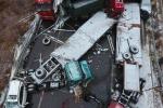 Hình ảnh không thể tin nổi vụ tai nạn khủng khiếp chưa từng thấy trên cao tốc Trung Quốc