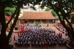 Video: Ngôi trường đặc biệt giữa Thủ đô khai giảng trong sân đình