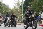 MC Anh Tuấn cùng 160 môtô diễu hành tưởng nhớ nhạc sĩ Trần Lập