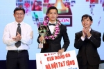 Đánh hụt Nghiêm Xuân Tú, Văn Quyết bị loại khỏi đề cử Quả bóng vàng Việt Nam 2017