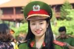 Ảnh: Nam thanh, nữ tú của Học viện Cảnh sát Nhân dân rạng ngời trong lễ bế giảng