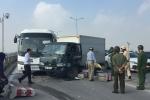 Video: 6 ô tô đâm nhau liên hoàn, nghìn người tắc cứng trên cầu Thanh Trì