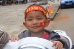 Trẻ em Gia Lai hóa trang rực rỡ cổ vũ đội tuyển U23 Việt Nam