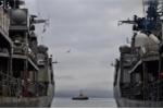 Chiến hạm Nga tới Cam Ranh, luyện tập tránh va trên biển với Việt Nam