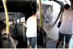 Xe buýt đang chạy bỗng đứt đôi khiến hành khách khiếp đảm