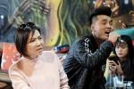 Thu Minh để mặt mộc, giản dị tập hát cùng Ưng Hoàng Phúc
