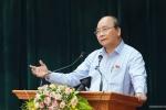 Thủ tướng trả lời cử tri về tăng giá điện, giá xăng dầu