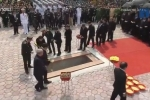 VIDEO Trực tiếp: Lễ an táng nguyên Tổng Bí thư Đỗ Mười tại quê nhà