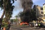 Ảnh, video: Hiện trường đánh bom 3 nhà thờ tại Indonesia khiến 41 người thương vong