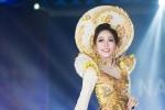 Phương Nga rạng rỡ trình diễn trang phục dân tộc tại 'Hoa hậu Hòa bình Quốc tế 2018'