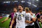 Ghi bàn không tưởng phút bù giờ, Đức thắng kịch tính Thụy Điển