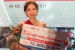 Nhan sắc xinh đẹp của nữ sinh Kinh tế Quốc dân đăng quang 'Gương mặt trang bìa' 2017