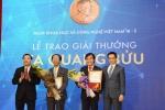 Lần đầu tiên, giải thưởng Tạ Quang Bửu được trao cho hai nhà khoa học ngoài Hà Nội