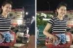 Hot girl bán kẹo Hải Phòng bất ngờ nổi tiếng dân mạng