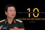 Video: 10 phát ngôn truyền cảm hứng của Thiếu tướng Nguyễn Mạnh Hùng