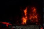 Đang cháy cực lớn tại công ty nhựa ở Sài Gòn