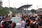 Người dân Thái Nguyên đi ô tô, xe máy diễu hành phản đối trạm BOT Bờ Đậu