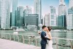 Ảnh cưới 'Nơi tình yêu bắt đầu' lãng mạn của cặp đôi 9X tại đảo quốc Sư Tử