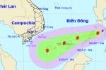 Trưa nay, bão Kai-tak đi vào Biển Đông và có khả năng mạnh thêm