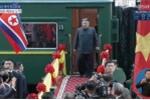 Clip toàn cảnh Chủ tịch Kim Jong-un đến ga Đồng Đăng, Lạng Sơn