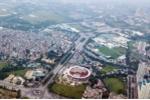 Ảnh: Toàn cảnh đường đua F1 tương lai tại Hà Nội từ trên cao