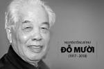 VIDEO Trực tiếp: Lễ truy điệu và đưa tiễn nguyên Tổng Bí thư Đỗ Mười về quê nhà